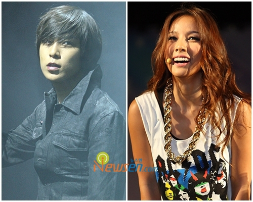 voted #1 for the male and female artistes who go well with smoky makeup.