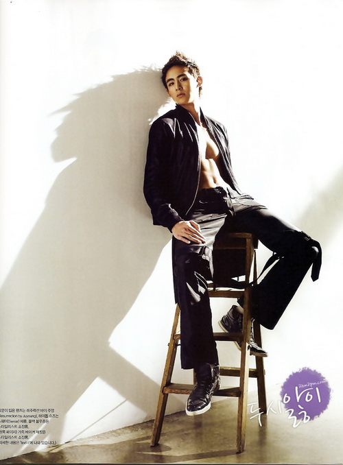 More 2PM sexiness for Vogue Girl photoshoot | K Bites