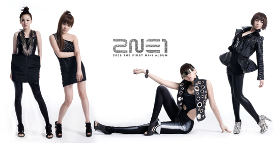 2NE1 after all, 'I Don't Care' is #1 up on music charts 200907010953201002_1