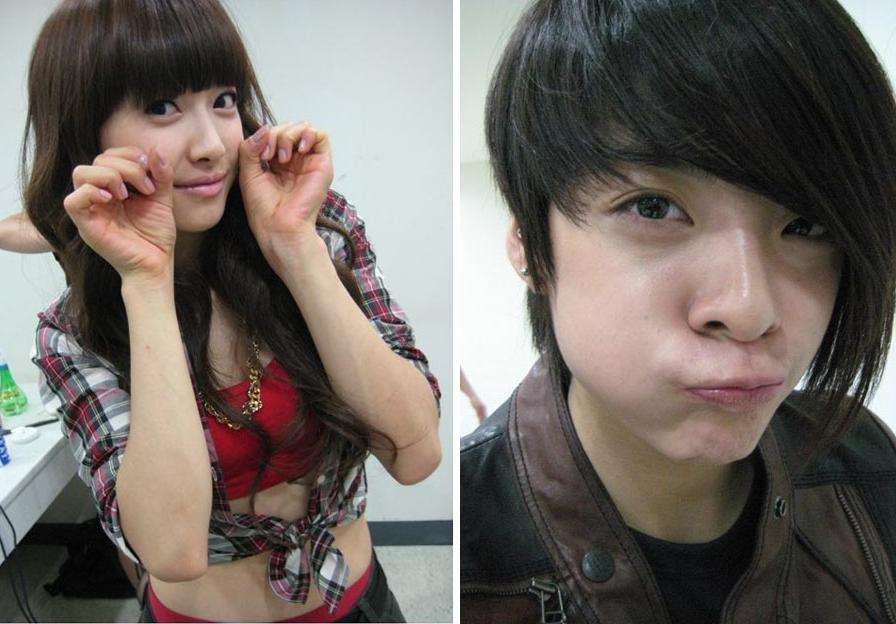 f(x) shows a real side of them backstage | K Bites F(x) Amber Pre Debut