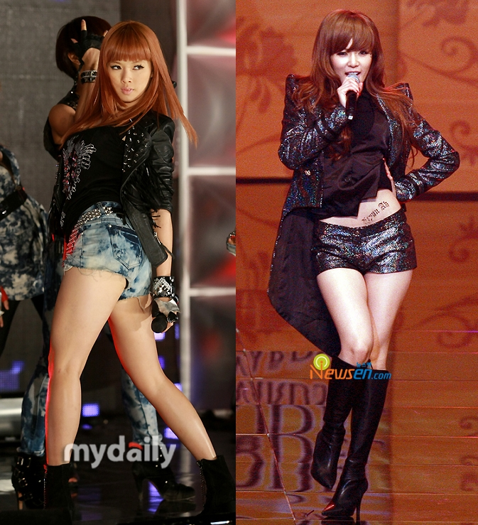 "All Magazine: HyunA's shocking revelation, ""I lost 17kg because of ..."