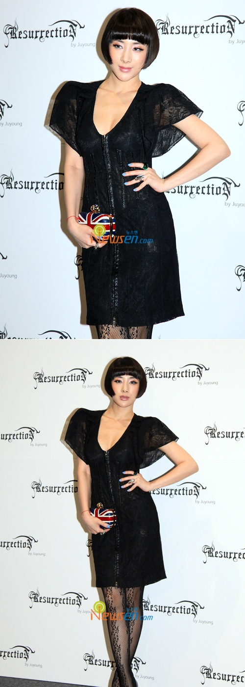 Seo In Young At Lee Joo Yeong Fashion Show And Jeremy Scott S Party K Bites