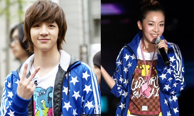 Celebrity siblings Sandara Park and Thunder spotted with ...