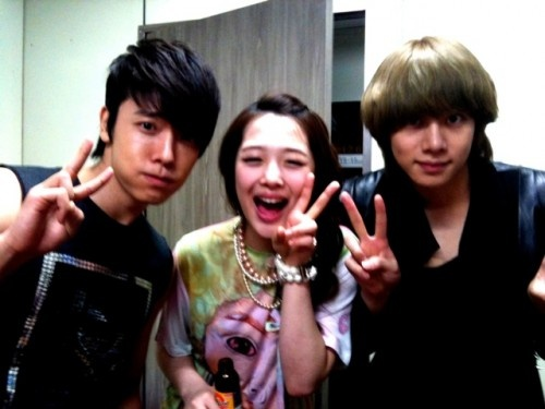 Super Junior Kim HeeChul reveals photo taken with DongHae ...