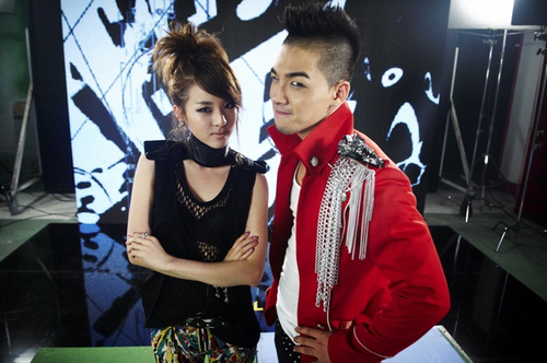 Taeyang and sandara park dating who. a headline to describe me for dating site.