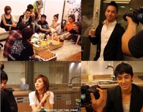 YG Family members gather to congratulate TaeYang  1