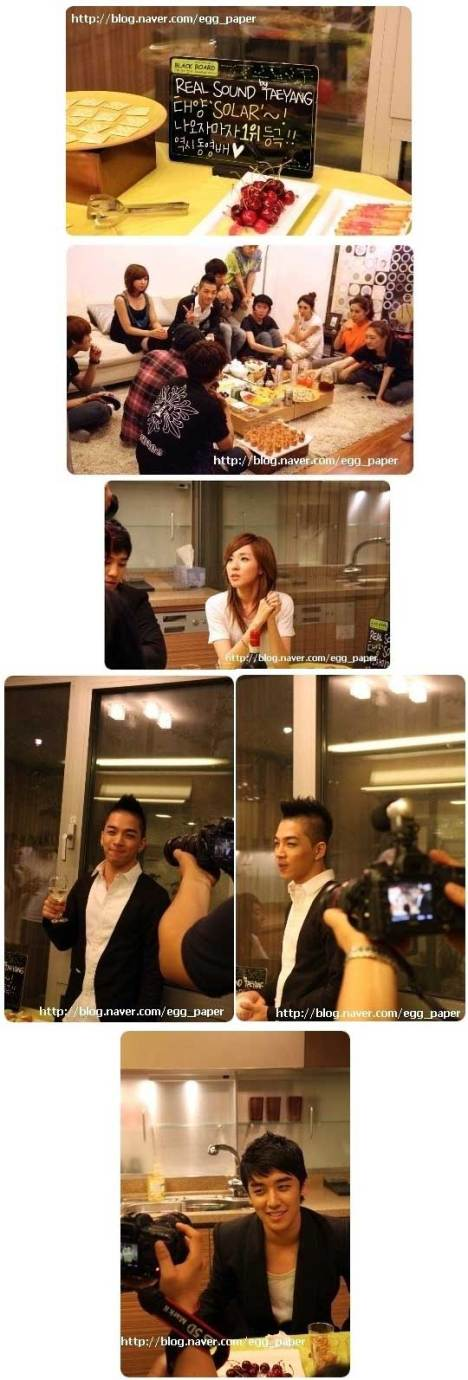 YG Family members gather to congratulate TaeYang  1372709